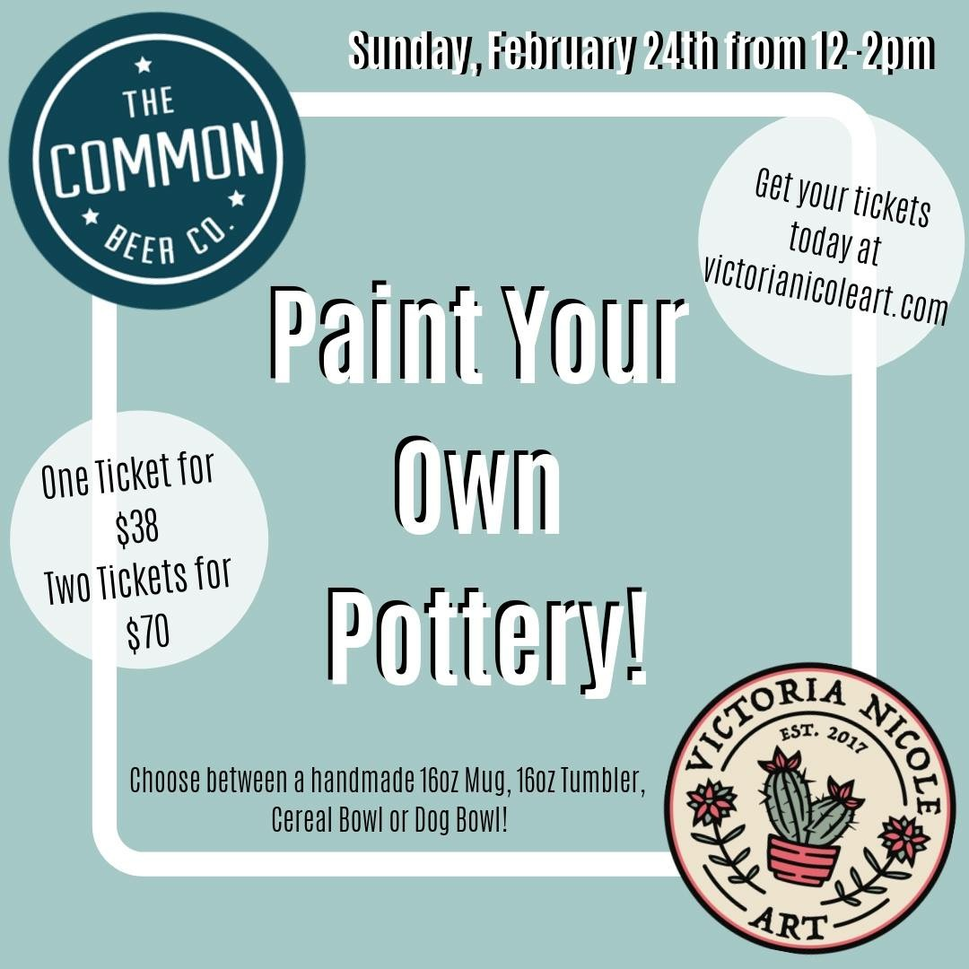 Paint with Pints at the Common Beer Company, Mason OH