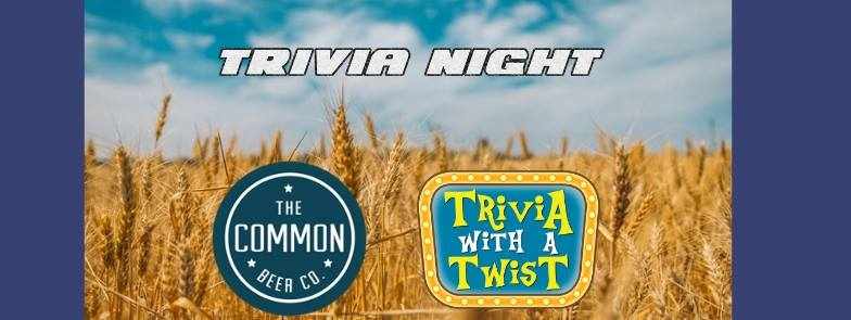 Trivia with a Twist at Common Beer Company, Mason OH