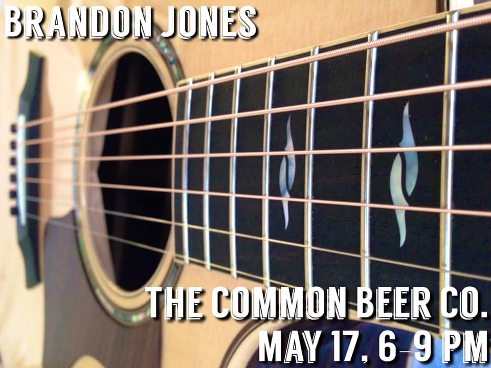 Brandon Jones at the Common Beer Company