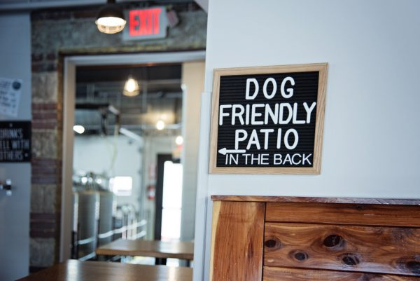 Dog Friendly Patio at The Common Beer Company