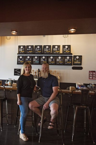 Mark & Amy Lortz of The Common Beer Company in Mason, OH